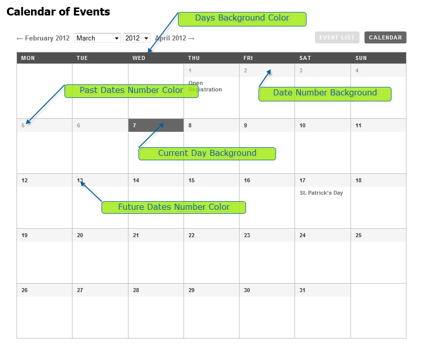 Events Calendar Tutorial WordPress Plugin