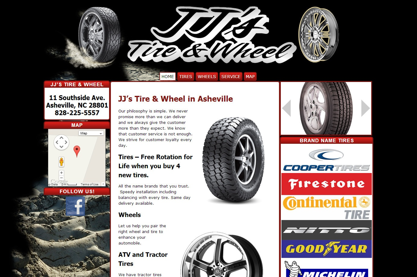 JJ's Tire And Wheel - Asheville Tires